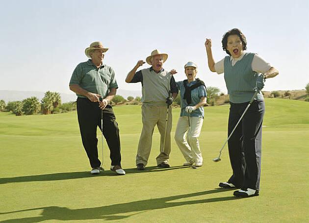 4−2.ゴルフマーカーを置く時にボールを動かしてしまった