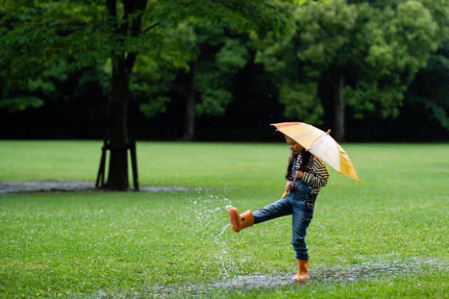 雨の強さと目安