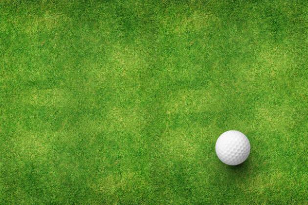 ゴルフボールの赤道ラインをチェック
