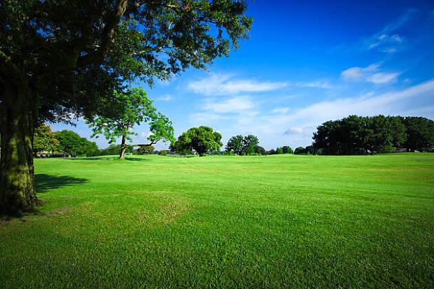 高い打球を打ちたい時はゴルフボールを左足寄りにおく