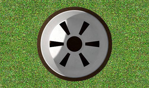 まずは、ゴルフのカップについての考察から