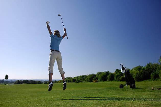解禁後、明らかに球筋も変わってゴルフが楽しい