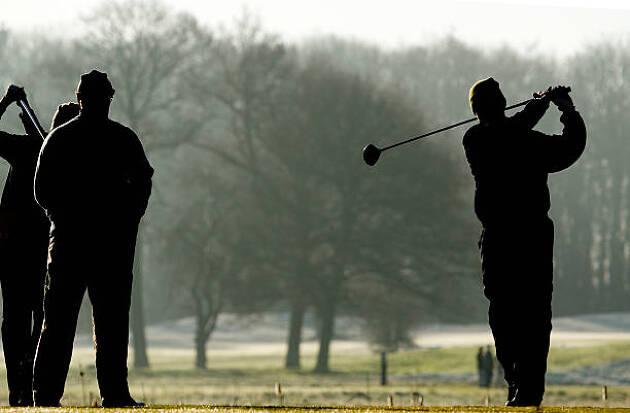 冬ゴルフ対策2.身体が動きづらい