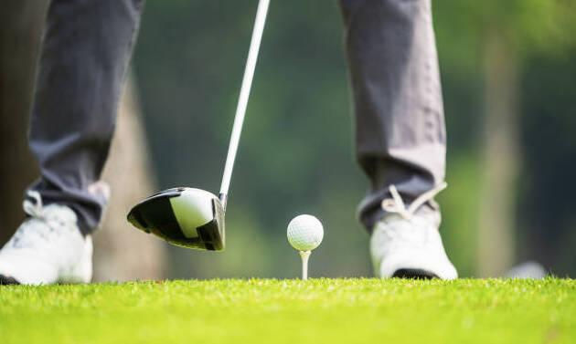 緊張感の中のゴルフ