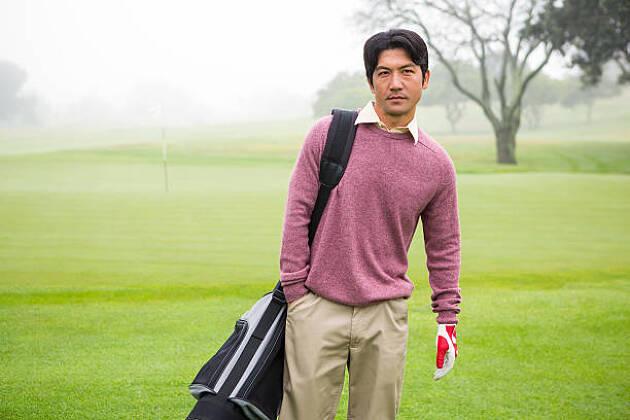 おすすめのメンズゴルファー冬コーディネート