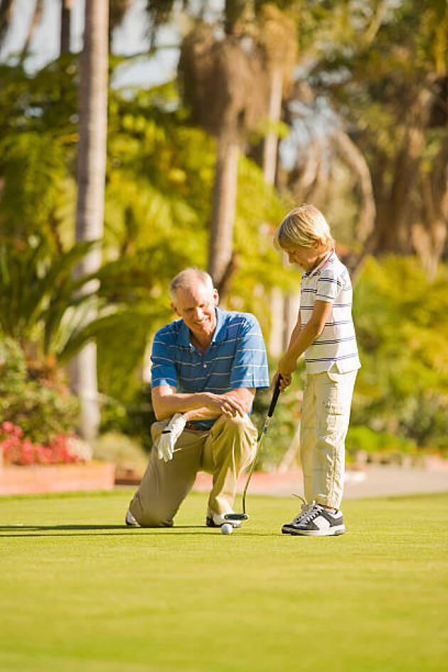 臼井麗香プロがゴルフを始めたのは祖父の影響