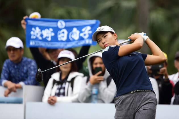 台湾でも大人気の渋野選手