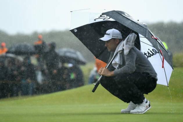 雨予報で、ピンポジションはとても難しい場所になる!