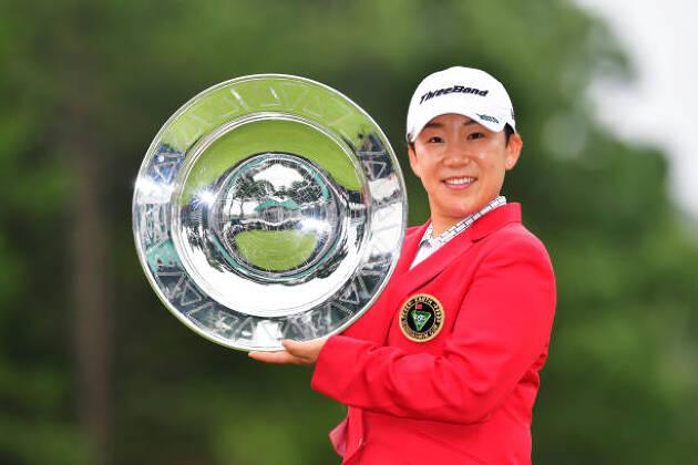 確かに、女子プロゴルフツアーの前半戦の高額賞金のトーナメントで、少しでも難しくしたいのでしょう!
