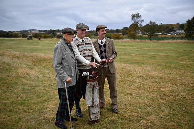 英国のゴルフ場は一筆書き
