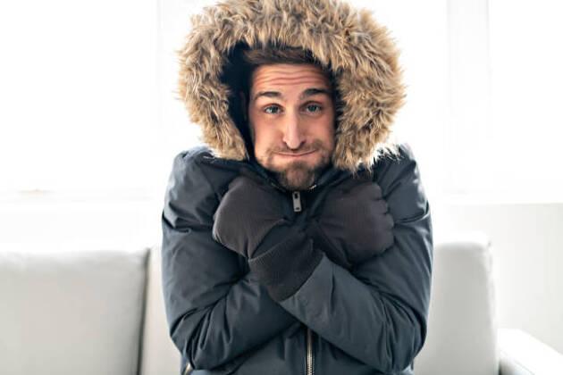 冬ゴルフが上手な人は体が冷えない服装をしている