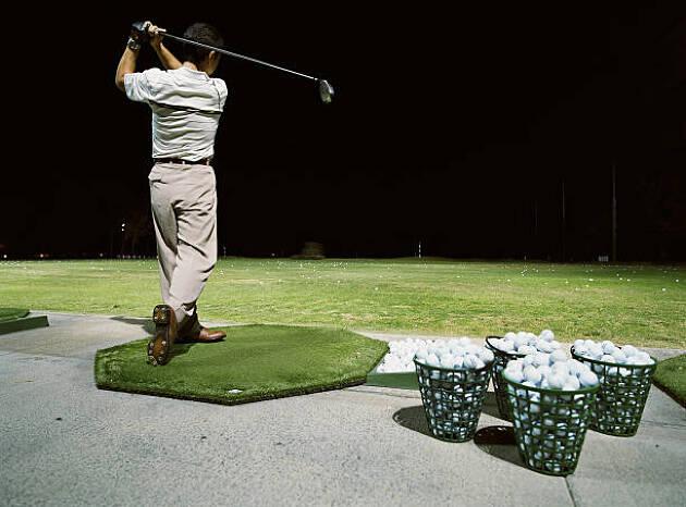 その2:たまの休みは一緒にゴルフや練習に