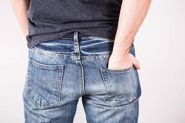 誰かに左ポケットを引っ張ってもらうのも効果的