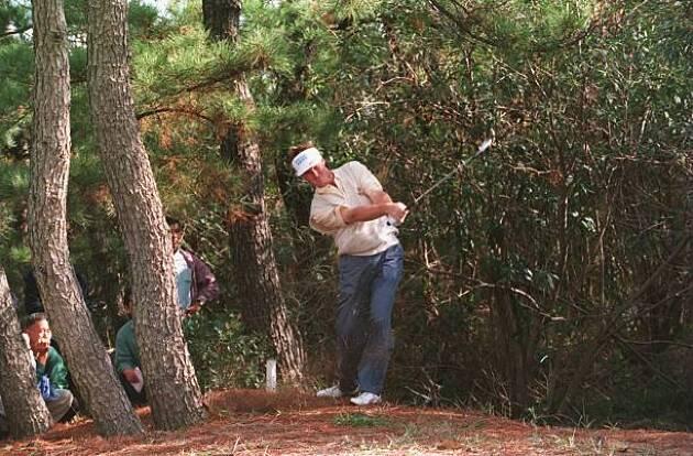 【体験談】木に当たって球が返る! マイナス10ヤード!