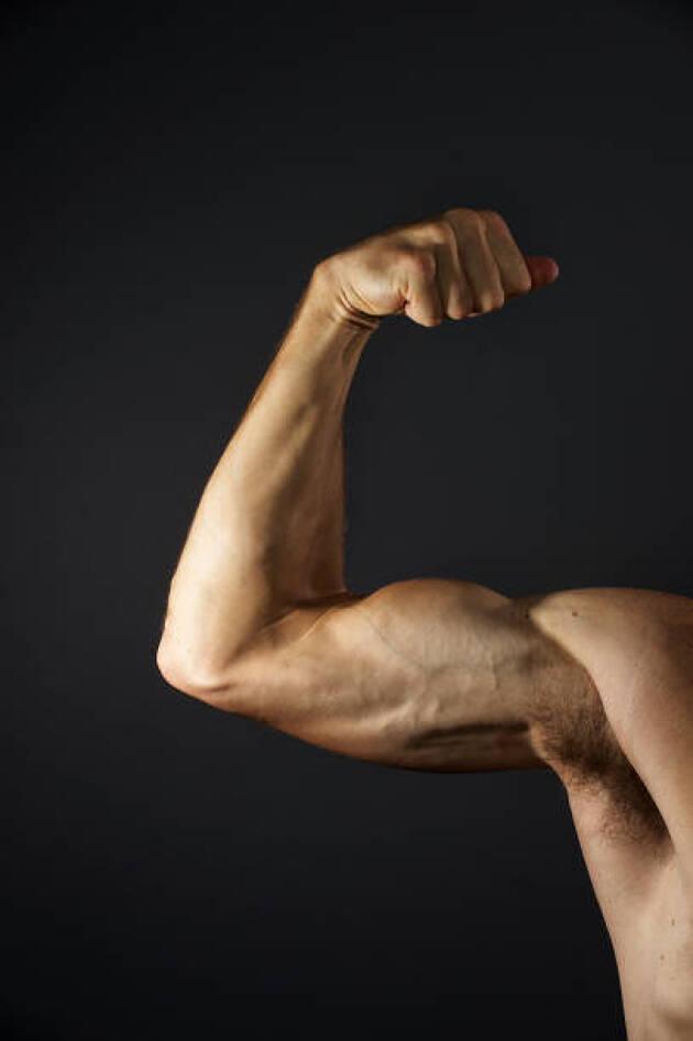 力んではマイナスの筋肉は?