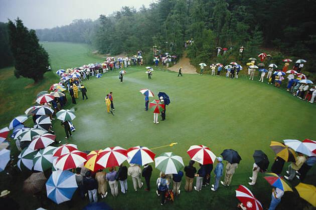 グリーン周りでのプレイをまとめられると雨の日もスコアが整う!