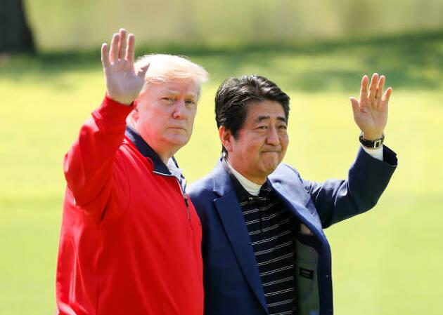"""""""ゴルフ外交""""に見るゴルフ"""