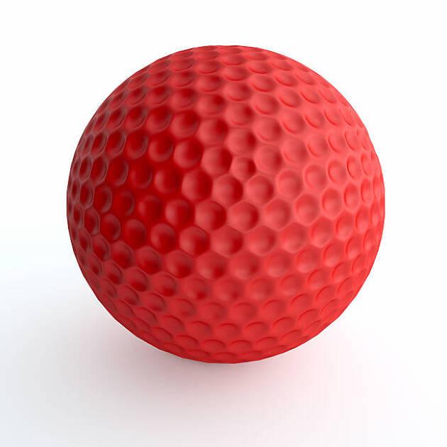 赤色のカラーボール