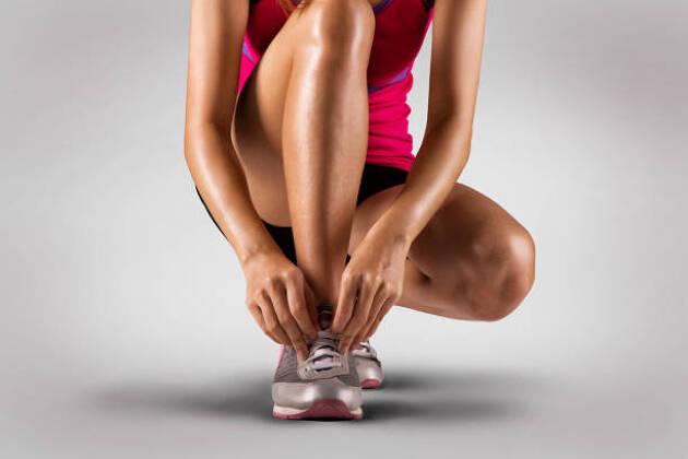 マラソンでもすねの筋肉痛になる人がいる