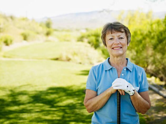 ゴルフは運動強度が低めなので体に負担がかかりにくい