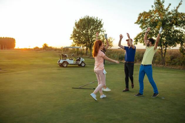 ゴルフも仕事もきちんと準備をしてきたら、心配せずにしっかりとやり遂げること!