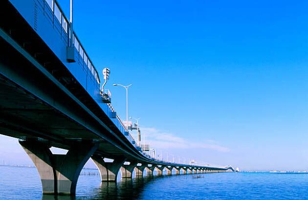 ゴルフで東京湾アクアラインを通ったことがありますか?