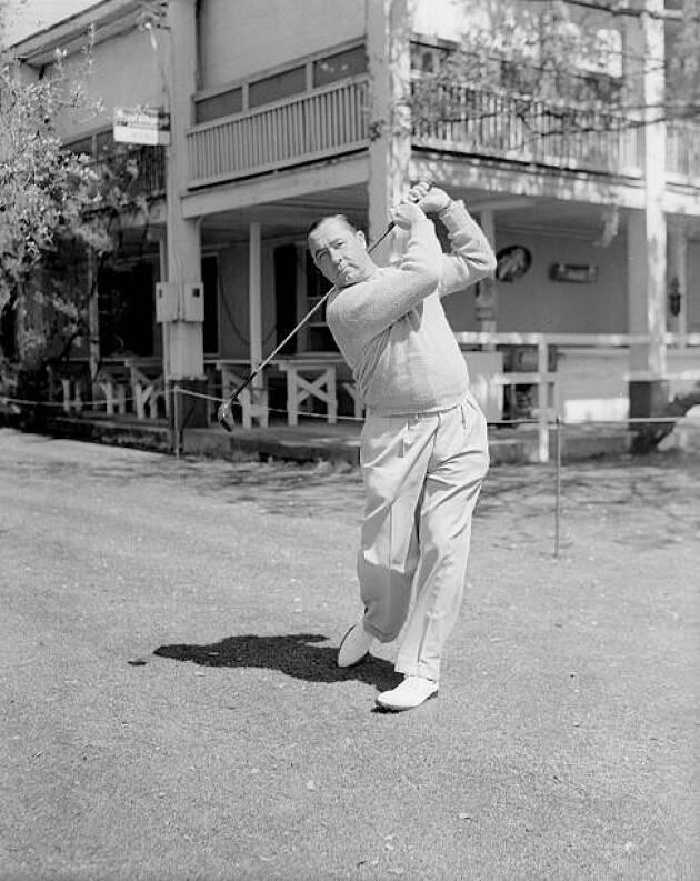 ゴルフウェアをカジュアル化させたのはウォルター・ヘーゲン
