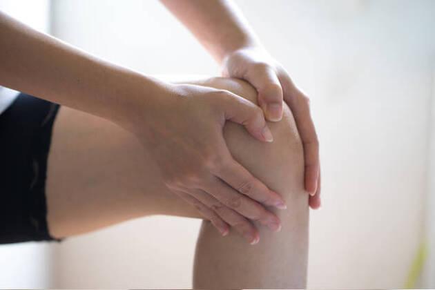 前傾角度、膝の曲げ具合を変えない人