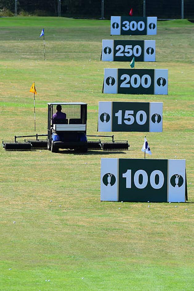 ゴルフ練習場のヤード表示は正しい?
