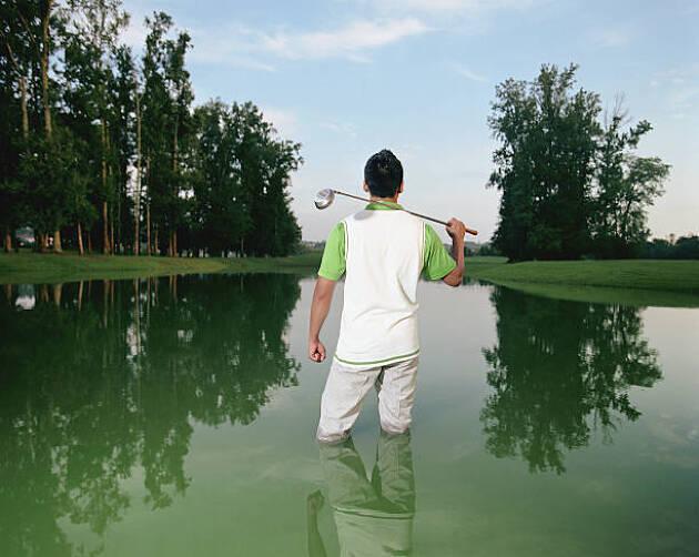 池・川をトコトン避ければダブルボギーは防げる!