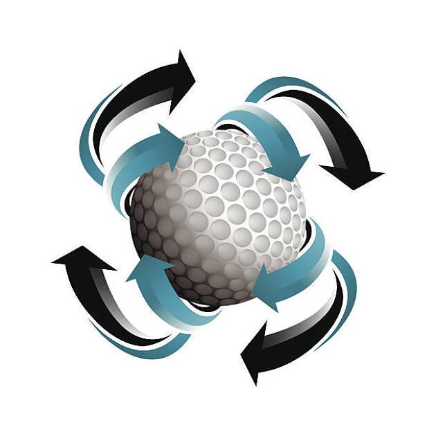 ボールの回転具合から推測する