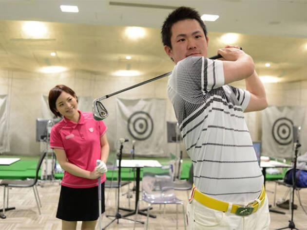 ゴルフ女子にうれしい最上のレッスンあり ゴルディア(大阪)
