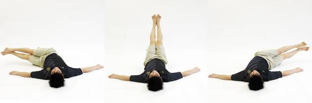 腹筋を効果的に鍛えるレッグツイスト