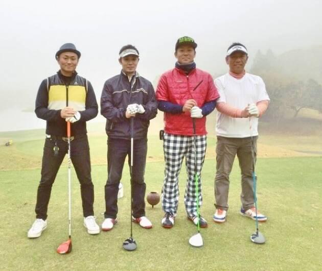スポーツ選手はゴルフを楽しんでいる!