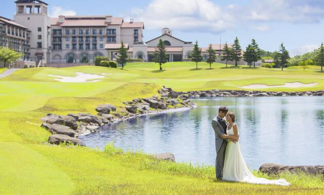 グランドエクシブ那須白河のゴルフ場ウェディング
